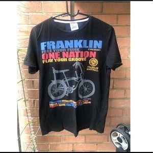 Franklin & Marshall bike print shirt